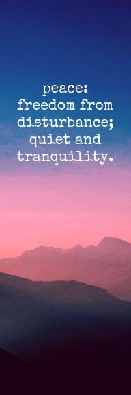 Sunset Photo Inspirational Bookmark